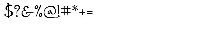 P22 DaVinci Forward Font OTHER CHARS
