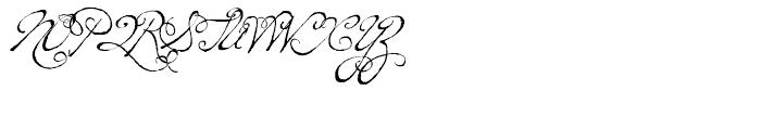 P22 Dearest Swash Font UPPERCASE