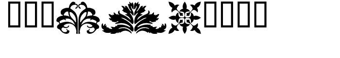 P22 Floriat Regular Font OTHER CHARS