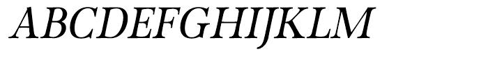 P22 Foxtrot Italic Font UPPERCASE