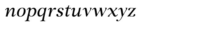 P22 Foxtrot Italic Font LOWERCASE