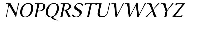 P22 Foxtrot Sans Italic Font UPPERCASE