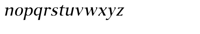 P22 Foxtrot Sans Italic Font LOWERCASE
