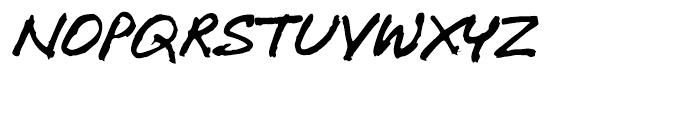 P22 Freely Regular Font UPPERCASE