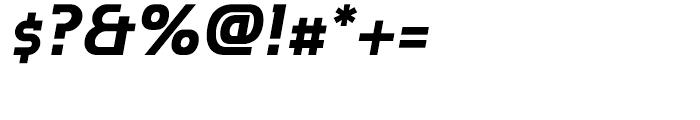 P22 Hedonic Bold Italic Font OTHER CHARS