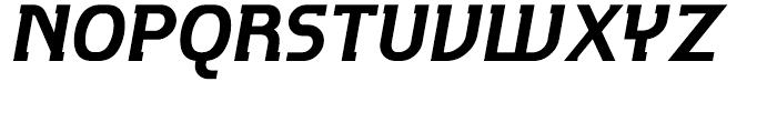 P22 Hedonic Bold Italic Font UPPERCASE