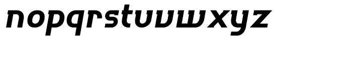 P22 Hedonic Bold Italic Font LOWERCASE
