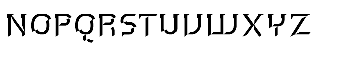 P22 Hedonic Chisel A Font LOWERCASE