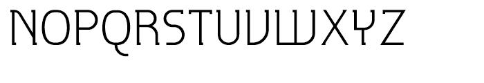 P22 Hedonic Light Font UPPERCASE