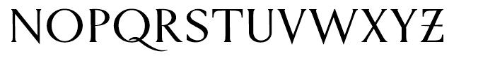 P22 Kirkwall Bold Trim Font UPPERCASE