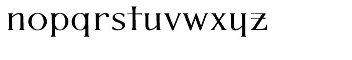P22 Kirkwall Bold Trim Font LOWERCASE