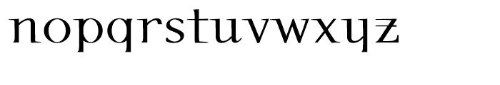 P22 Kirkwall Bold Font LOWERCASE