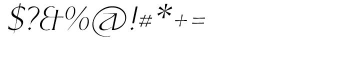P22 Kirkwall Italic Font OTHER CHARS