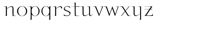 P22 Kirkwall Regular Font LOWERCASE