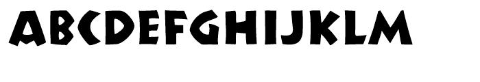 P22 Koch Nueland Font LOWERCASE