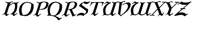 P22 Larkin Regular Font UPPERCASE