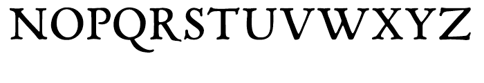P22 Mayflower Smooth Regular Font UPPERCASE