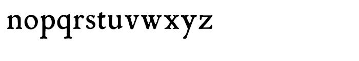 P22 Mayflower Smooth Regular Font LOWERCASE