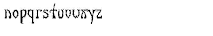 P22 Salon Full Font LOWERCASE