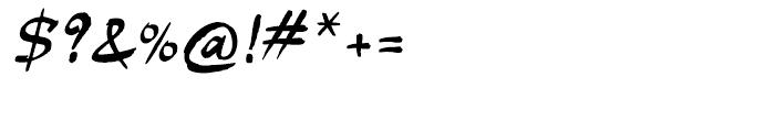 P22 Slogan Regular Font OTHER CHARS