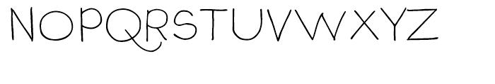 P22 Stanyan Autumn Regular Font UPPERCASE