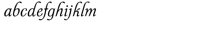 P22 Symphony Regular Font LOWERCASE