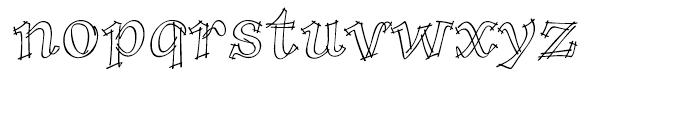 P22 Tulda Regular Font LOWERCASE