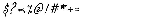 P22 Vincent Regular Font OTHER CHARS