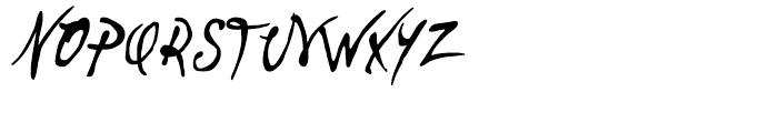 P22 Vincent Regular Font UPPERCASE