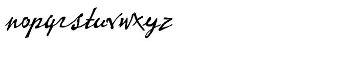 P22 Vincent Regular Font LOWERCASE