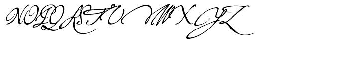 P22 Virginian Regular Font UPPERCASE