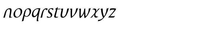 P22 Wedge Italic Font LOWERCASE