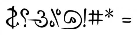 P22 Da Vinci Backwards Font OTHER CHARS