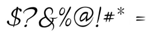 P22 Michelangelo Regular Font OTHER CHARS