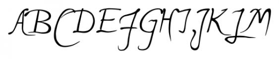 P22 Michelangelo Regular Font UPPERCASE