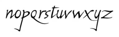 P22 Michelangelo Regular Font LOWERCASE