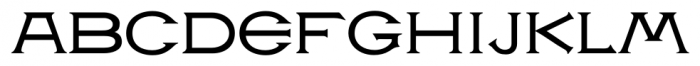 P22 Victorian Gothic Font LOWERCASE