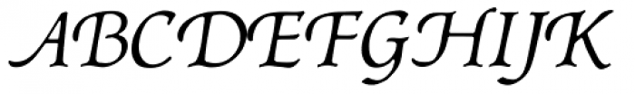 P22 Afton Font UPPERCASE