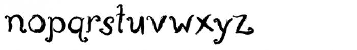 P22 Aglio Font LOWERCASE