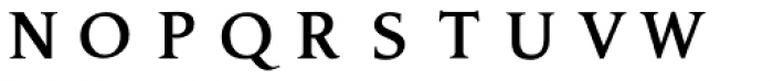 P22 Amelia Jayne Open Initials Font LOWERCASE