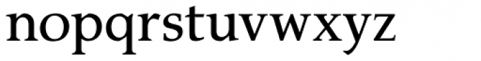 P22 Amelia Jayne Roman Font LOWERCASE