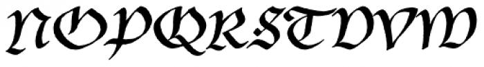 P22 Bastyan Font UPPERCASE