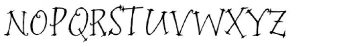 P22 Bramble Font UPPERCASE
