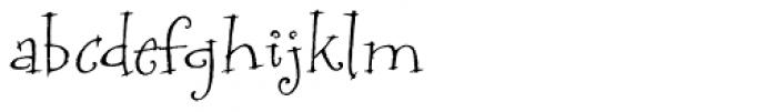P22 Bramble Font LOWERCASE
