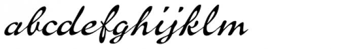 P22 Brass Script Pro Font LOWERCASE