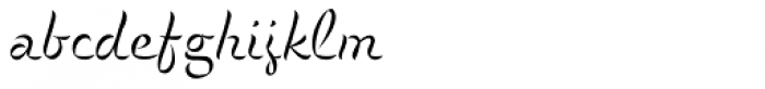 P22 Cigno Light Font LOWERCASE