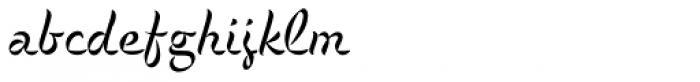 P22 Cigno Regular Font LOWERCASE
