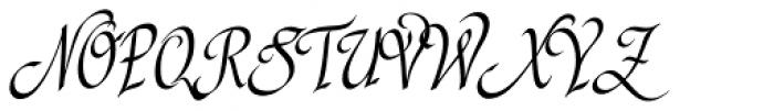 P22 Cilati Swash Small Caps Font UPPERCASE