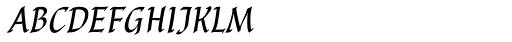 P22 Cilati Swash Small Caps Font LOWERCASE