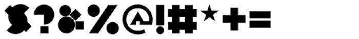 P22 Constructivist Block Font OTHER CHARS